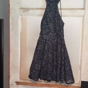 Navy blue Homecoming dress-size 0